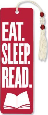 Beaded Bkmk Eat, Sleep Read Cover Image