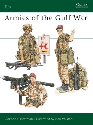 Armies of the Gulf War (Elite) Cover Image