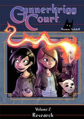 Gunnerkrigg Court, Volume 2 Cover