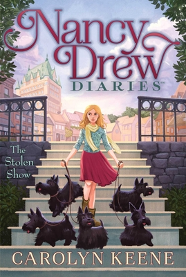 The Stolen Show (Nancy Drew Diaries #18) Cover Image