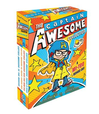 The Captain Awesome Collection: A MI-TEE Boxed Set: Captain Awesome to the Rescue!; Captain Awesome vs. Nacho Cheese Man; Captain Awesome and the New Kid; Captain Awesome Takes a Dive Cover Image