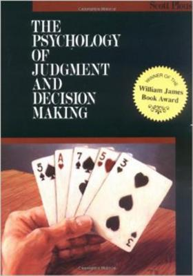 Cover for The Psychology of Judgment and Decision Making