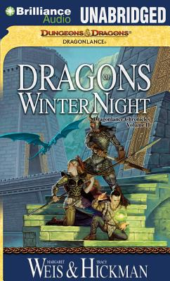 Dragons of Winter Night (Dragonlance Chronicles #2) Cover Image