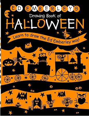 Ed Emberley's Drawing Book of Halloween Cover Image