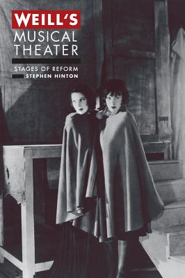 Cover for Weill's Musical Theater