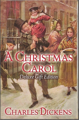 A Christmas Carol: Deluxe Silk-Bound Gift Edition Cover Image