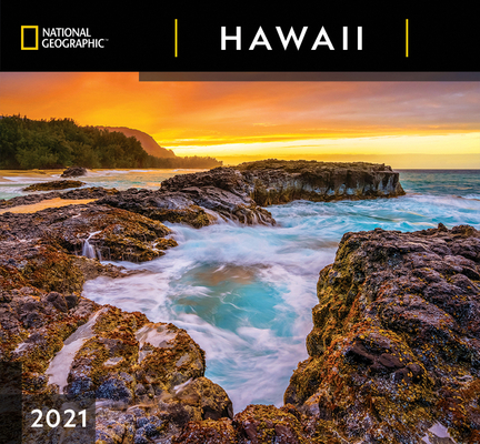 Cal 2021- National Geographic Hawaii Wall Cover Image