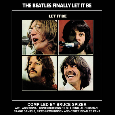 The Beatles Finally Let It Be (Beatles Album Series) Cover Image