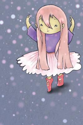 Ballet Girl Notebook Cover Image