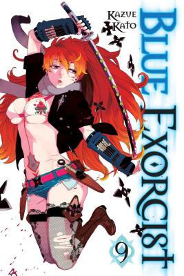 Blue Exorcist, Volume 9 Cover