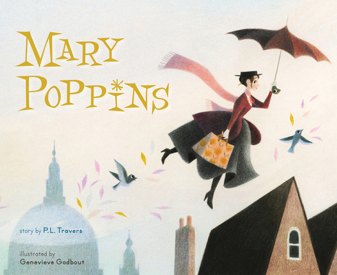 Mary Poppins (picture book) Cover Image