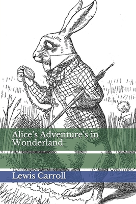 Alice's Adventure's in Wonderland Cover Image