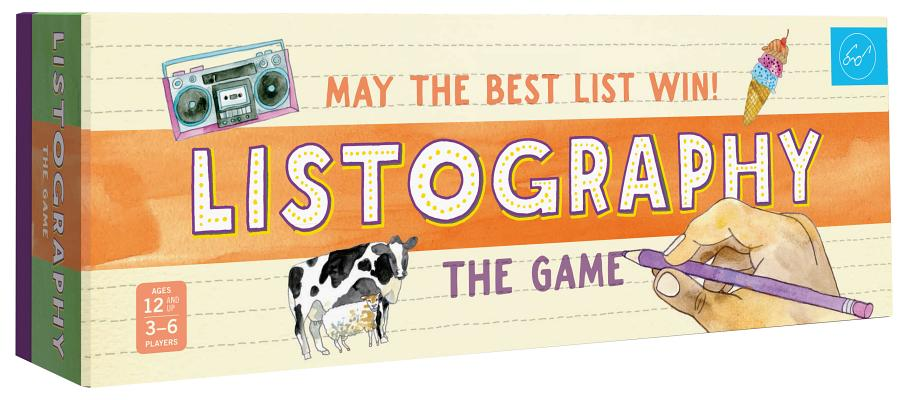 Listography: The Game: May the Best List Win! (Board Games, Games for Adults, Adult Board Games) Cover Image