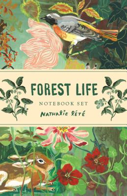 Forest Life Notebook Set: (Cute Office Supplies, Cute Desk Accessories, Back to School Supplies) Cover Image