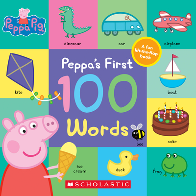 Peppa's First 100 Words (Peppa Pig) Cover Image