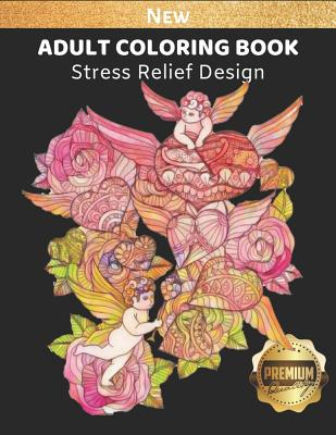 Adult Coloring Book: Valentine Picture Theme for Stress Relief and Enjoyment, 8.5 x 11 inch, High Quality Image Cover Image