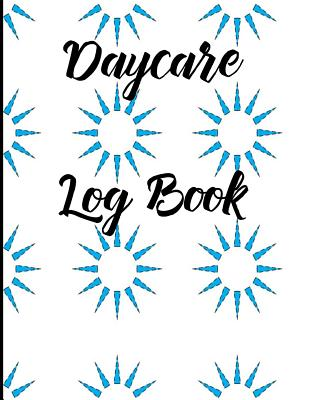 Daycare Log Book Cover Image