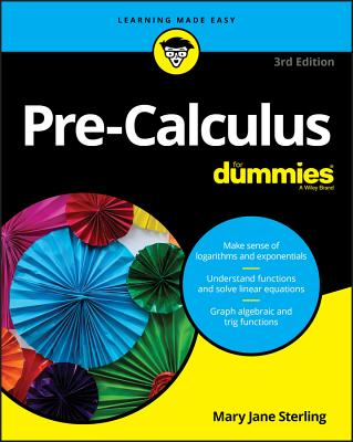 Pre-Calculus for Dummies Cover Image