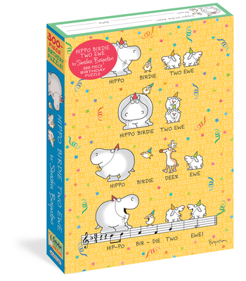 Sandra Boynton: Hippo Birdie Two Ewe 300-Piece Birthday Puzzle (Workman Puzzles) Cover Image
