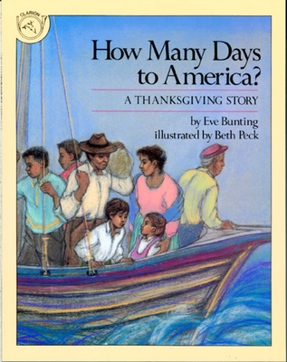 How Many Days to America?: A Thanksgiving Story Cover Image