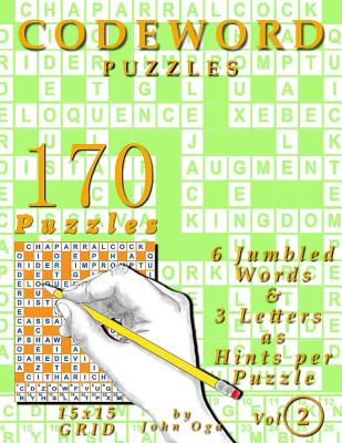 Codeword Puzzles: 170 Puzzles, Volume 2 Cover Image