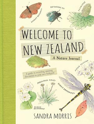 Welcome to New Zealand: A Nature Journal Cover Image
