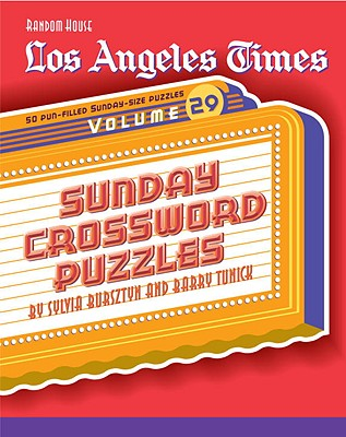 Los Angeles Times Sunday Crossword Puzzles, Volume 29 Cover