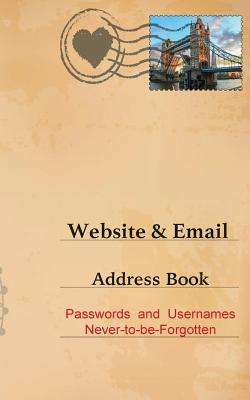 Website and Email Address Book Cover Image