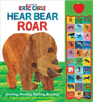 World of Eric Carle, Hear Bear Roar 30 Animal Sound Book Cover Image