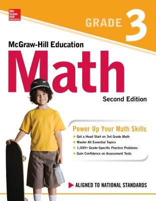 McGraw-Hill Education Math Grade 3, Second Edition Cover Image