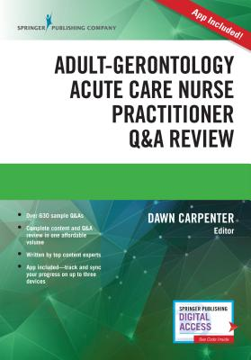 Adult-Gerontology Acute Care Nurse Practitioner Q&A Review Cover Image