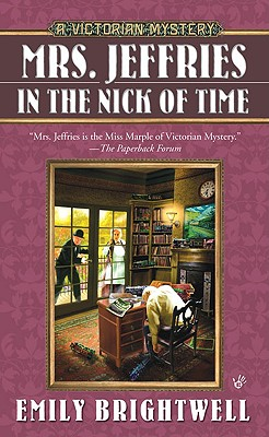 Mrs. Jeffries in the Nick of Time (A Victorian Mystery #25) Cover Image
