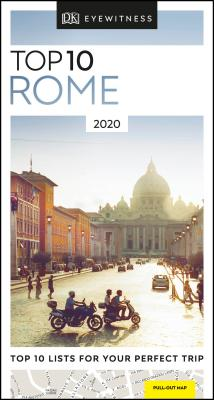 DK Eyewitness Top 10 Rome (Travel Guide) Cover Image