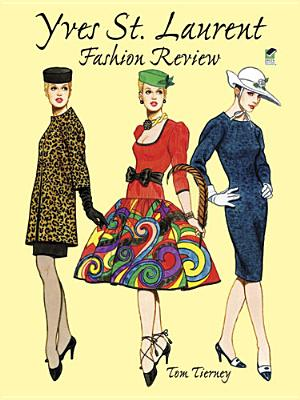 Yves St. Laurent Fashion Review (Dover Paper Dolls) Cover Image
