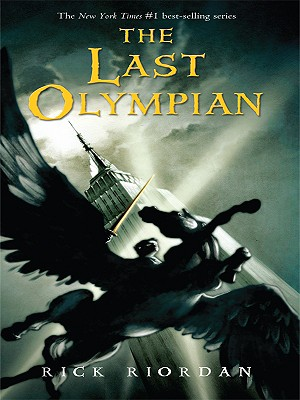 The Last Olympian (Thorndike Literacy Bridge Young Adult #5) Cover Image