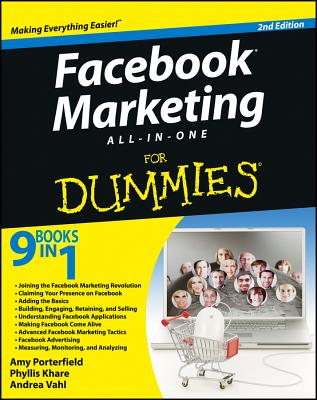 Facebook Marketing All-In-One for Dummies Cover