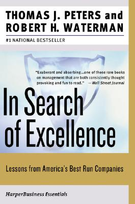 Cover for In Search of Excellence
