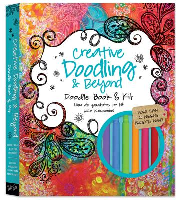 Creative Doodling & Beyond [With 8 Colored Pencils, Drawing Pencil and Eraser and Sharpener and 8 Markers and Paper] Cover