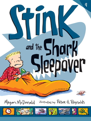 Stink and the Shark Sleepover Cover Image