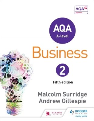 Aqa Business for a Level 2 Cover Image
