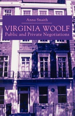 Virginia Woolf: Public and Private Negotiations Cover Image