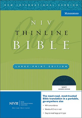 Thinline Bible-NIV-Large Print Cover Image