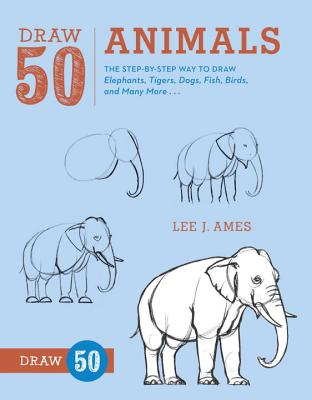 Draw 50 Animals Cover