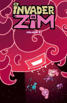 Cover for Invader ZIM Vol. 5