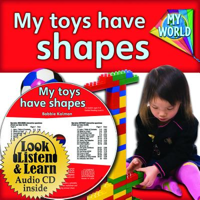 My Toys Have Shapes - CD + PB Book - Package (My World) Cover Image