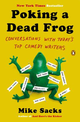 Cover for Poking a Dead Frog