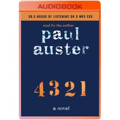 4 3 2 1: A Novel Cover Image