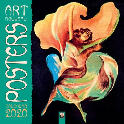Art Nouveau Posters Wall Calendar 2020 (Art Calendar) Cover Image