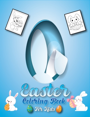 Easter Coloring Book for Kids: A Fun Activity for Happy Easter Things and Other Cute Things Coloring and Guessing Games for Kids Cover Image