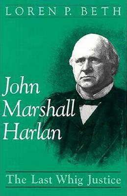 Cover for John Marshall Harlan